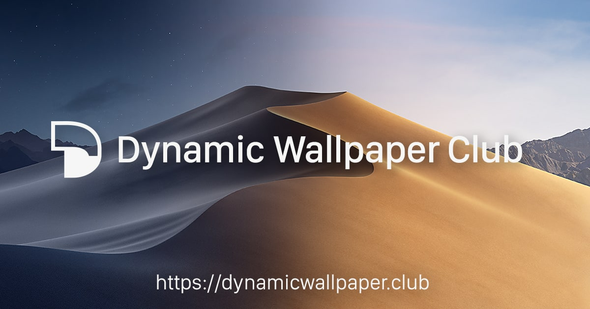 Dynamic Wallpaper Club